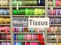 Le marché aux tissus